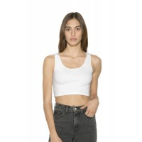 American Apparel Womens Crop Tank