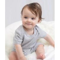 Babybugz Baby Striped Playsuit
