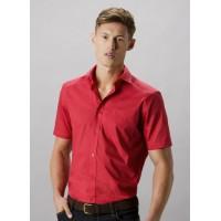 Kustom Kit Mens S/S Poplin Shirt