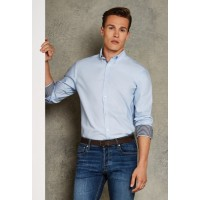 Clayton & Ford L/S Contrast Shirt