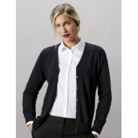 Kustom Kit Ladies V-Neck Cardigan