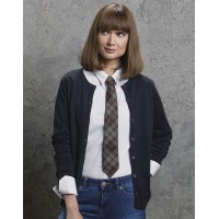 Kustom Kit Ladies Round Neck Cardigan