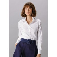 Kustom Kit Ladies Stretch Oxford Shirt