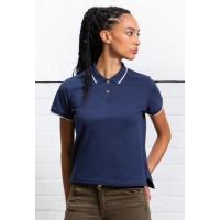 Mantis Womens Tipped Polo Shirt