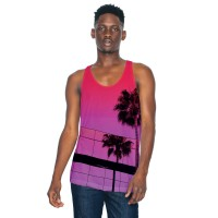American Apparel Adult Subli Tank