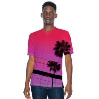 American Apparel Adult S/S Subli V Tee