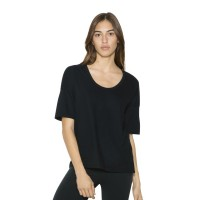 American Apparel Deep U Neck Tshirt