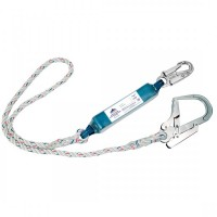 Single Lanyard With Shock Absorber