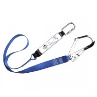 Webbing Lanyard With Shock Absorber