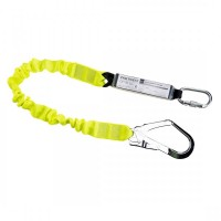 Single Elasticated Lanyard With Shock Absorber