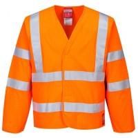 Hi-Vis Anti Static Jacket - Flame Resistant
