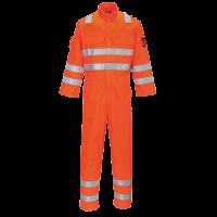 Araflame Hi-Vis Multi Orange Coverall