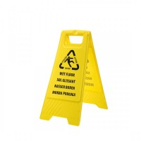 Euro Wet Floor Warning Sign