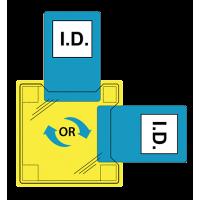 Dual ID Holder - Heatseal