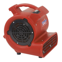 Air Dryer/Blower 356cfm 230V