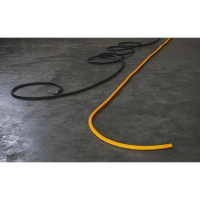 Air Hose 10m x Ø8mm Hybrid High Visibility 1/4