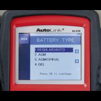 Autel EOBD Code Reader - Electrical & Battery Tester