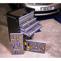 8 Drawer Rollcab with 136pc Tool Kit