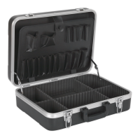 ABS Tool Case 460 x 350 x 150mm