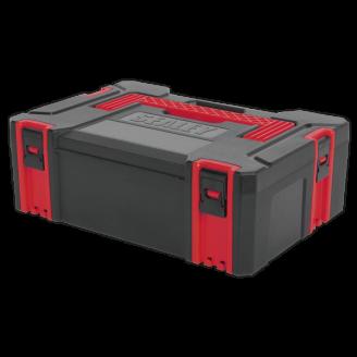 ABS Stackable Click Together Toolbox - Medium