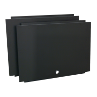 Back Panel Assembly for Modular Corner Wall Cabinet 930mm
