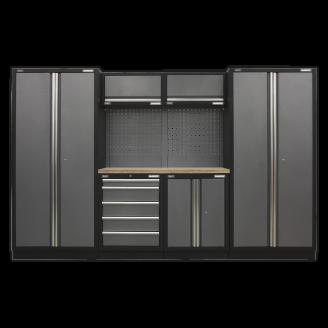 Modular Storage System Combo - Pressed Wood Worktop