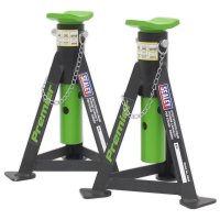 Axle Stands (Pair) 3tonne Capacity per Stand Green