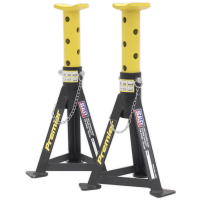Axle Stands (Pair) 3tonne Capacity per Stand Yellow