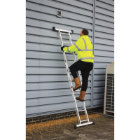 Aluminium Scaffold Ladder 4-Way EN 131