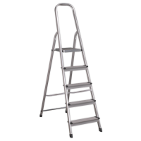 Aluminium Step Ladder 5-Tread EN 131
