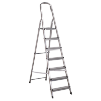Aluminium Step Ladder 7-Tread EN 131