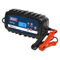 Compact Auto Smart Charger 6.5A 6/12V