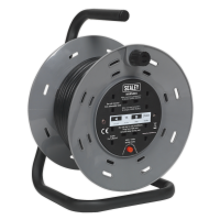 Cable Reel 15m 3 x 230V Thermal Trip