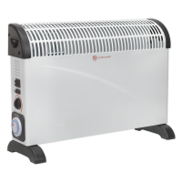 Convector Heater 2000W/230V with Turbo, Timer & Thermostat