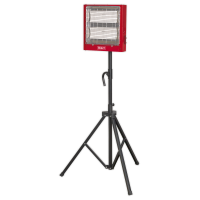 Ceramic Heater with Telescopic Tripod Stand 1.4/2.8kW 230V