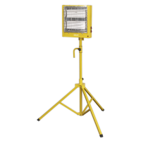 Ceramic Heater with Telescopic Tripod Stand 1.4/2.8kW 110V