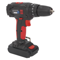 Cordless Hammer Drill/Driver 10mm 18V 1.5Ah Lithium-ion 2-Speed - Fast Charger