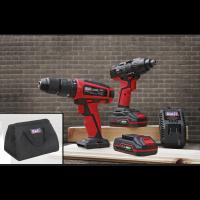 CP20V - Drill & Impact Driver Kit