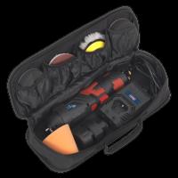 Cordless Mini Sander/Polisher Kit Ø75mm 12V Lithium-ion