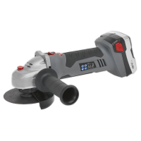 Cordless Angle Grinder Ø115mm 18V Lithium-ion 1hr Charge - 2 Batteries