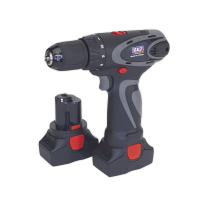 Cordless Drill/Driver 10mm 14.4V 2Ah Lithium-ion 10mm 2-Speed Motor - 2 Batteries 40min Charger