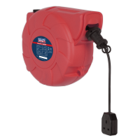 Cable Reel System Retractable 25m 1 x 230V Socket