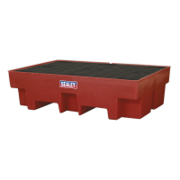Barrel Bund Polyethylene 1220 x 820 x 330mm