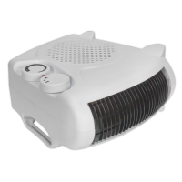 Fan Heater 2000W/230V 2 Heat Settings & Thermostat