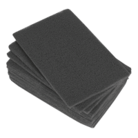 Abrasive Finishing Pad 150 x 230mm Ultra Fine Pack of 10