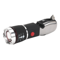 Emergency Torch/Multi-Tool - 3W LED Adjustable Focus 3 x AAA Cell