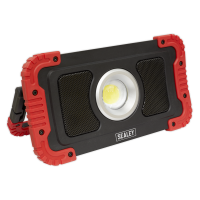 20W COB LED R/Charge Wireless Speaker Work light+Power Bank