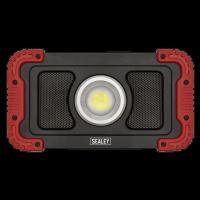 20W COB LED R/Charge Wireless Speaker Work light+Power Bank