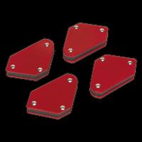 Magnetic Quick Clamp Set 4pc