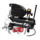 Compressor 24ltr Direct Drive 2hp with 4pc Air Accessory Kit